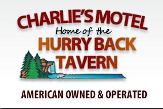 Charlie's Motel signage
