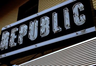 Republic signage