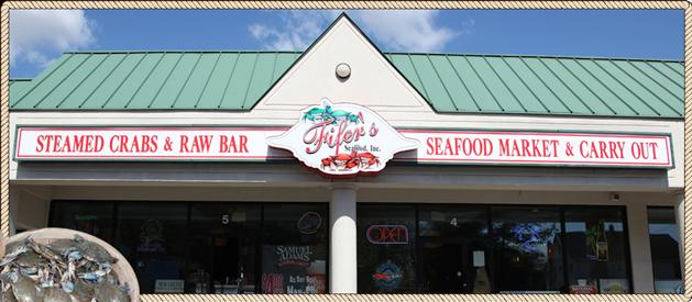 Fifer Seafood exterior view
