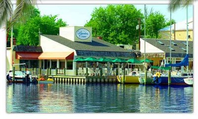Pirates Cove Restaurant & Oyster Bar water view