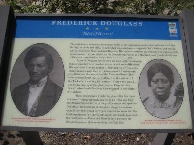 Frederick Douglass Civil War Trail Marker
