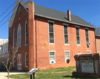 Historic brick Church