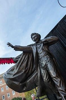 Frederick Douglass Statue at UMCP