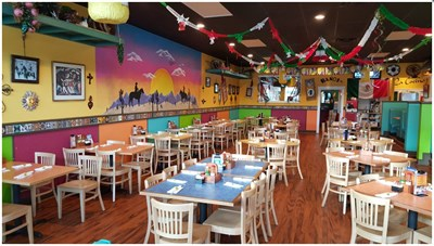 Interior view of El Jefe Mexican Kitchen and Tequila Bar