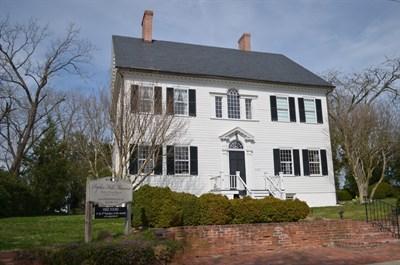 Poplar Hill Mansion exterior view
