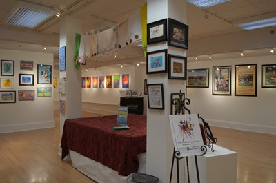 Salisbury Art Space interior view