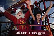 Santa on rollercoaster