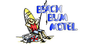 Beach Bum Motel logo