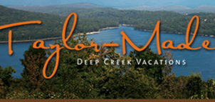Taylor-Made Deep Creek Vacations & Sales logo.