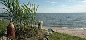 Bay Shore Campground water view