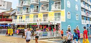 Tidelands Caribbean Hotel on the Boardwalk