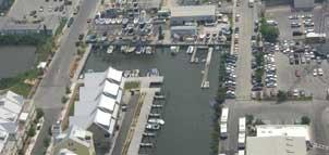 Aerial of Marina