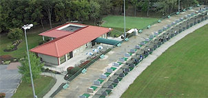 Driving Range at Arundel Golf Park