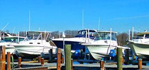 Boats at Blackstone Marina