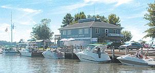 Bohemia Bay Yacht Harbor.