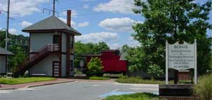 Photo of old train depot