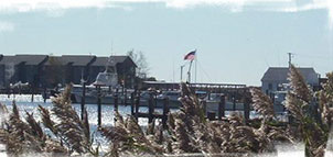 Flag at Deal Island