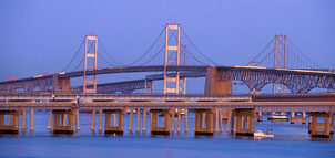 photo of the Bay Bridge