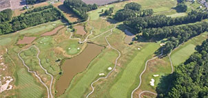 Great Hope Golf Course aerial view