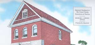 Painting of Friend Family Association Headquarters