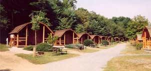 Cabins at KOA Kampground