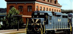 Western Maryland Railroad Photo