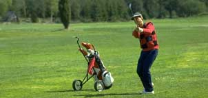 Golfer at Leisure World