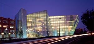 Contemporary glass building photo