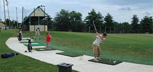 Driving Range at Mitchell's Golf Complex