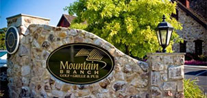 Front Gate at Mountain Branch Golf Course