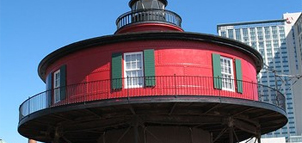Photo Credit: Seven Foot Knoll Lighthouse