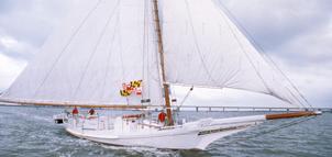 Photo of sailing Skipjack