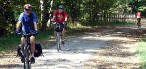 Biking through the Great Allegheny Passage