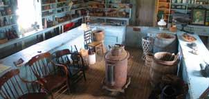 Bucktown village Store interior