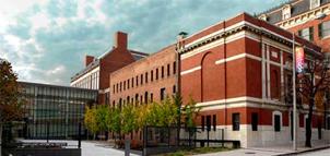 Brick exterior of Maryland Historical Society
