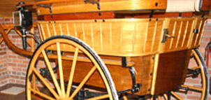Photo of an old carriage