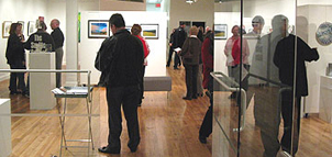 The Saville Gallery within the Allegany Arts Council