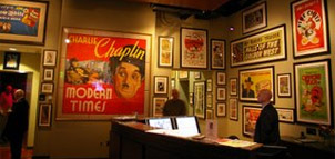 Gallery in Geppi's Entertainment Museum