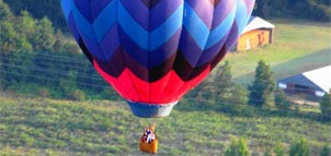 Photo of hot air baloon