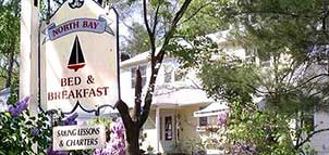 North Bay B&B Sign