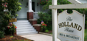 Holland House B&B Sign