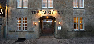 Talbot Inn in the Evening
