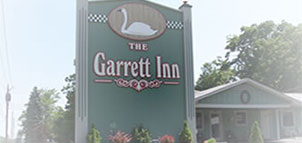 Photo Credit: Garrett Inn signage