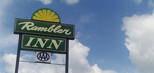 Rambler Inn Sign
