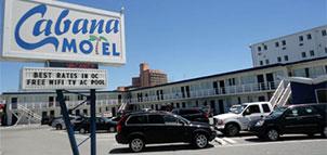Cabana Motel exterior