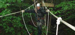 Flying Squirrel Canopy Tour