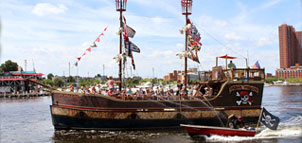 Urban Pirate Ship