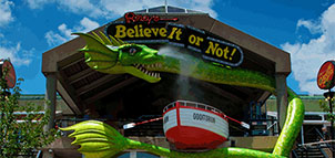 Exterior of Ripley's Believe It or Not!