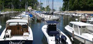boats at Flag Harbor