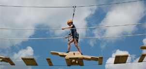Spider Monkey Ropes Course